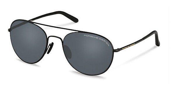 Porsche Design Herren Sonnenbrille » P8606« in C - schwarz/ blau