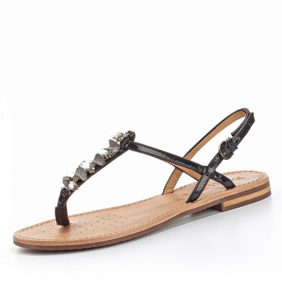 Geox Sozy Sandale in schwarz