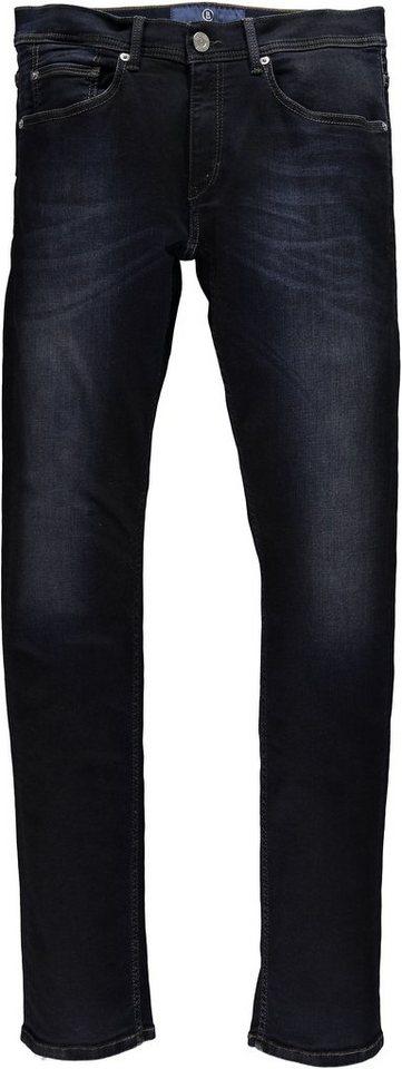 Bogner Jeans Stretchjeans »Jake« in dark scratched used