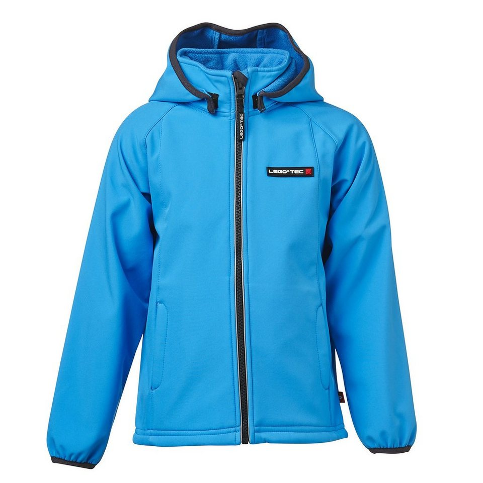 LEGO Wear LEGO® SummerTec Soft Shell Jacke SKEET 1000mm Wassersäule Kapuze in blau