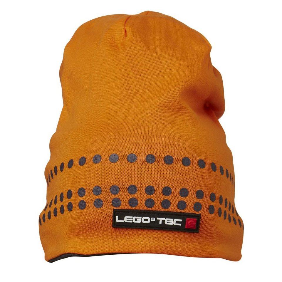 LEGO Wear LEGO® SummerTec Wende-Mütze Kappe Ace Hut in orange