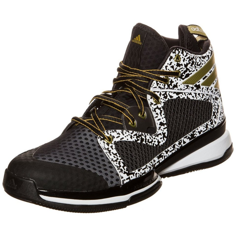 adidas Performance Adizero PG Basketballschuh Herren in schwarz / gold