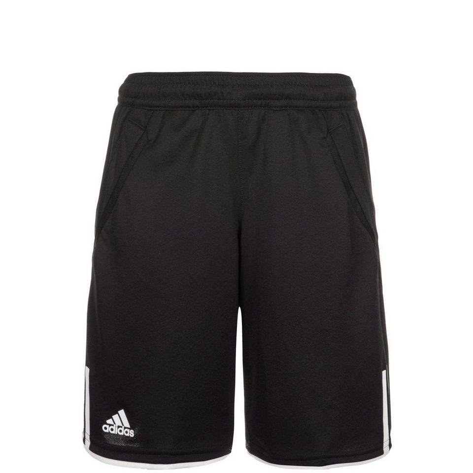 adidas Performance Club Tennisshort Kinder in schwarz / weiß