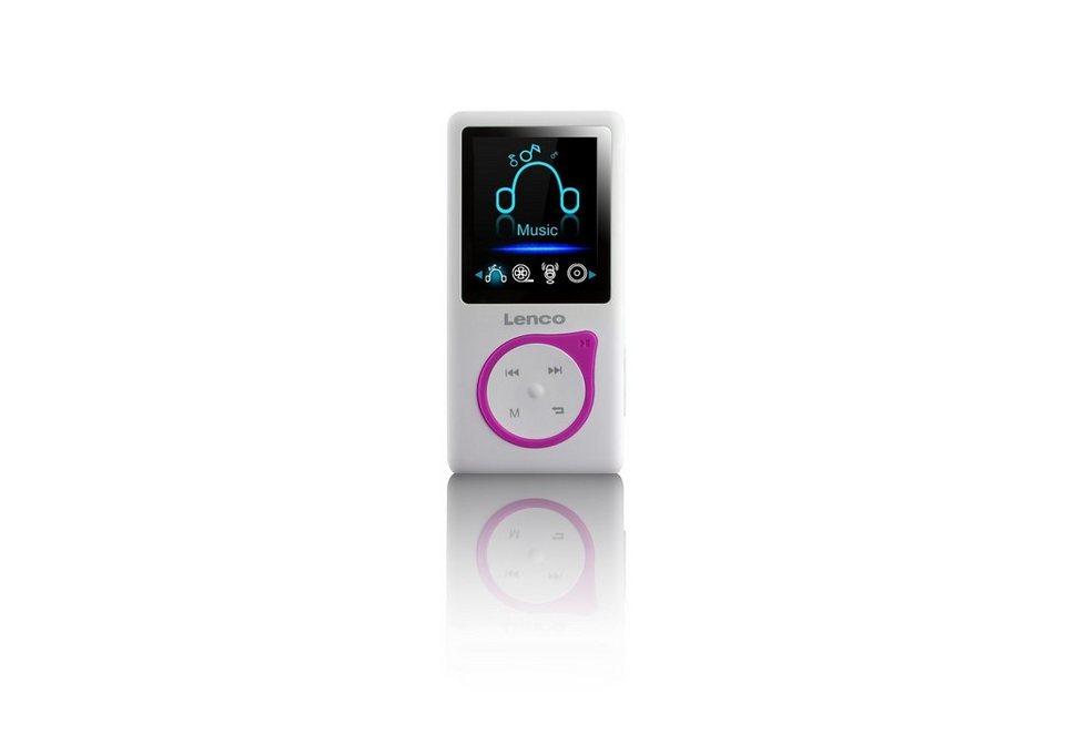 Lenco MP3 / MP4 Player »XEMIO-657« in pink