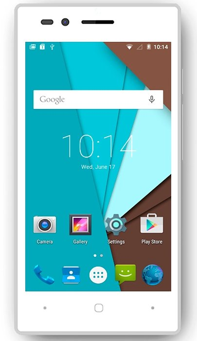 Siswoo Smartphone »Chocolate A5« in weiss