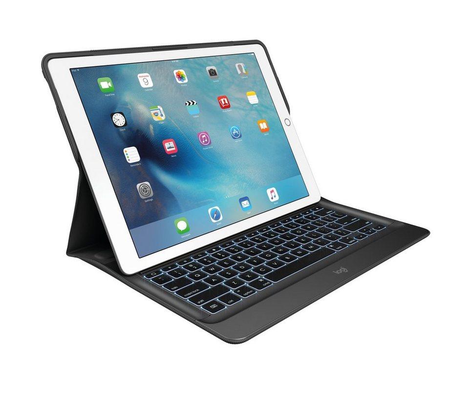 Logitech Tastatur »CREATE Tastatur-Case mit Hintergrundbeleuchtung«