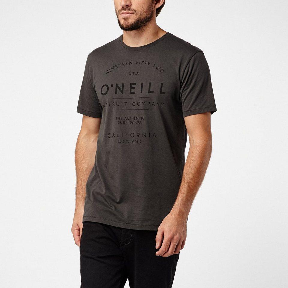 O'Neill T-Shirt kurzärmlig »Type« in Anthrazit