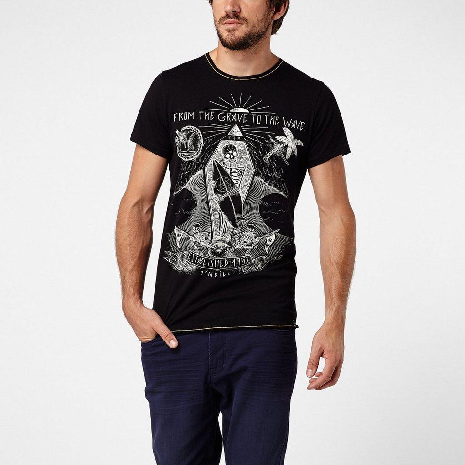 O'Neill T-Shirt kurzärmlig »Old Salt« in Schwarz