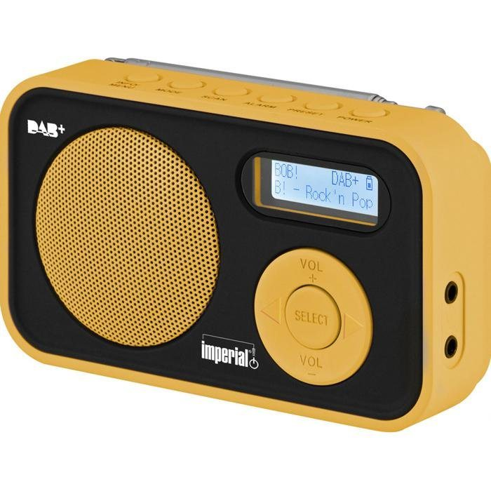 IMPERIAL Mobiles DAB+ und UKW Radio »DABMAN 12« in Orange