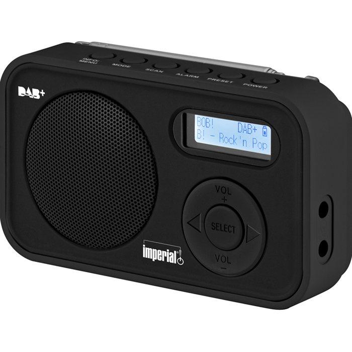 IMPERIAL Mobiles DAB+ und UKW Radio »DABMAN 12« in schwarz