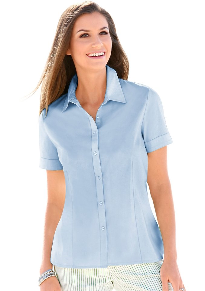 Collection L. Bluse in hellblau