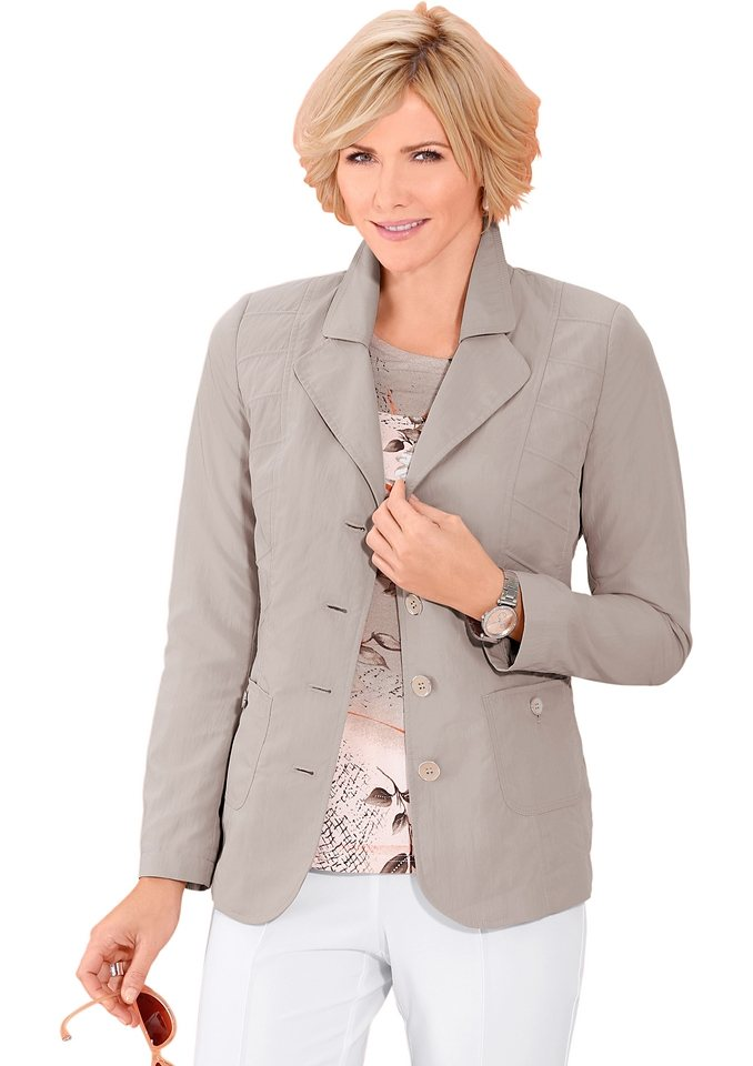 Classic Blazer in taupe