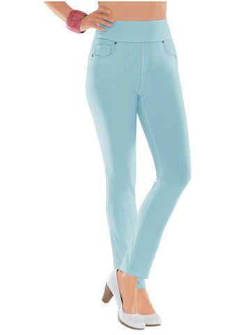 CASUAL LOOKS Kelnės su höherem platus juosmuo