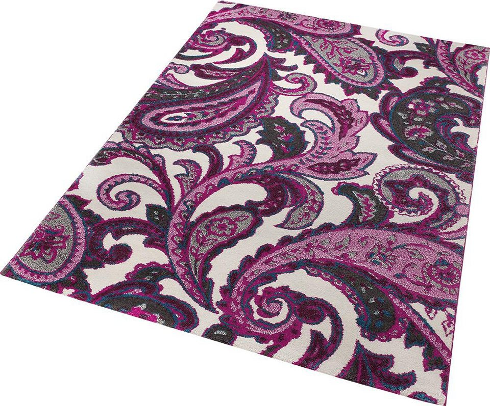 Teppich, ESPRIT, »It piece«, gewebt in lila