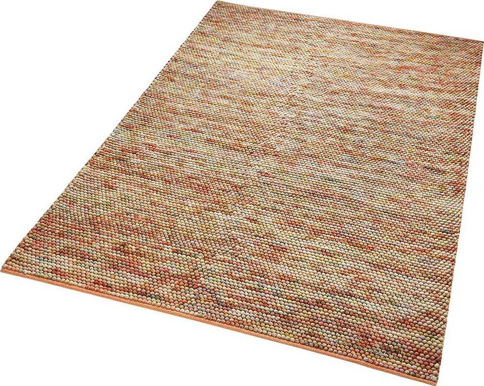 Teppich, ESPRIT, »Knob«, handgewebt in pink