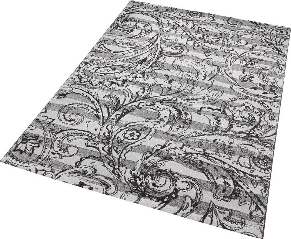 Teppich, ESPRIT, »Paisley Style«, gewebt in grau