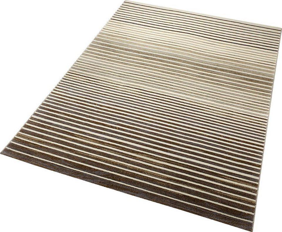Teppich, ESPRIT, »Nifty Stripes«, gewebt in braun