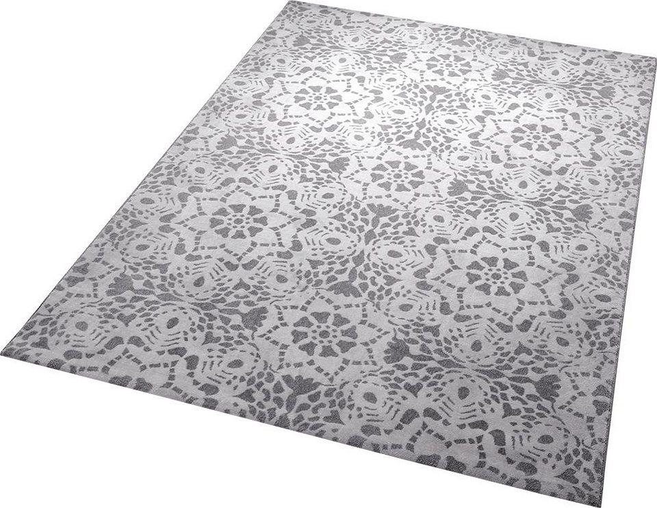 Teppich, ESPRIT, »Mysteria«, gewebt in silber