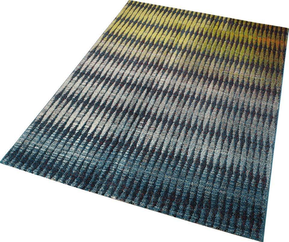 Teppich, ESPRIT, »Ocean View«, gewebt in gelb