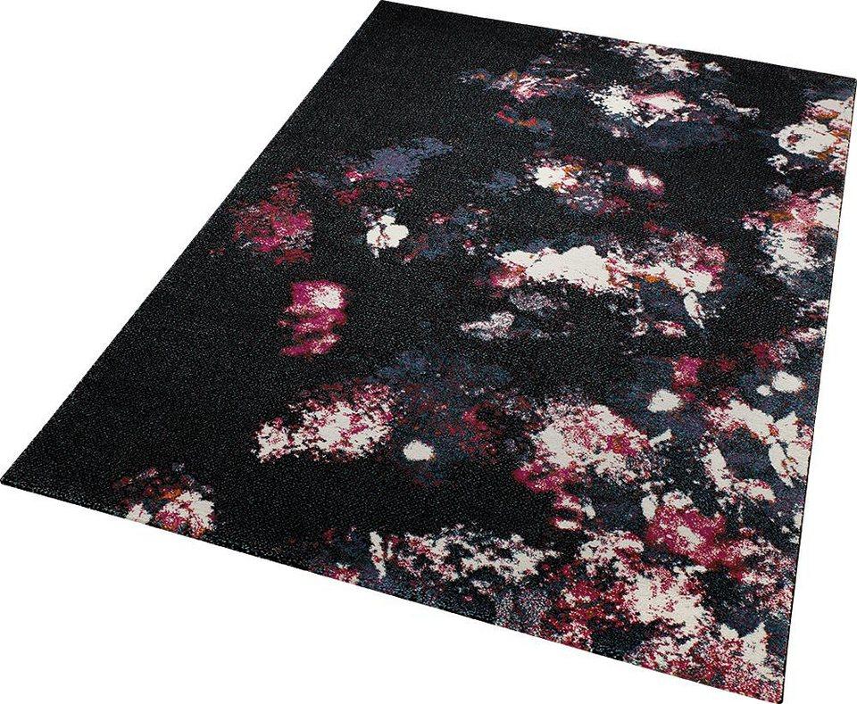 Teppich, ESPRIT, »Nocturnal Flowers«, gewebt  OTTO
