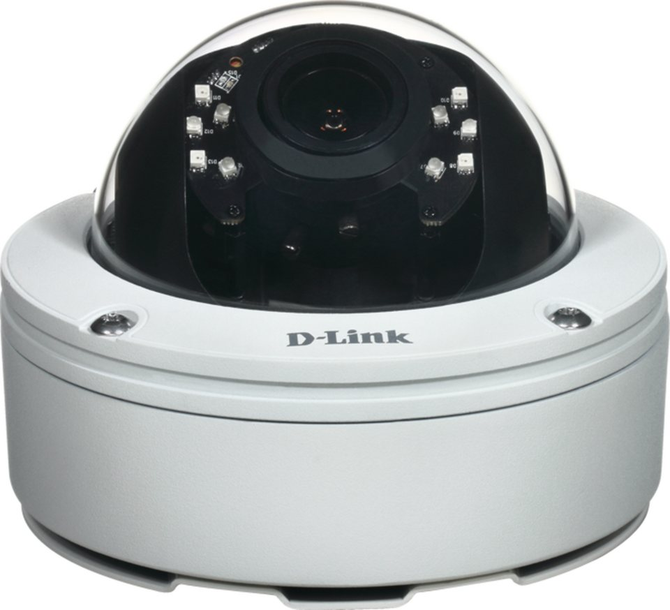 D-Link IP-Kamera »DCS-6517 Outdoor Fixed Dome IR PoE Full HD 5MP« in Weiß