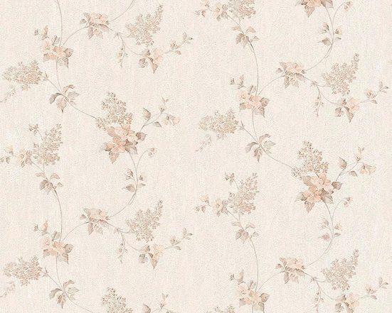 living walls Vliestapete »Concerto«, floral, geblümt, mit Blumen