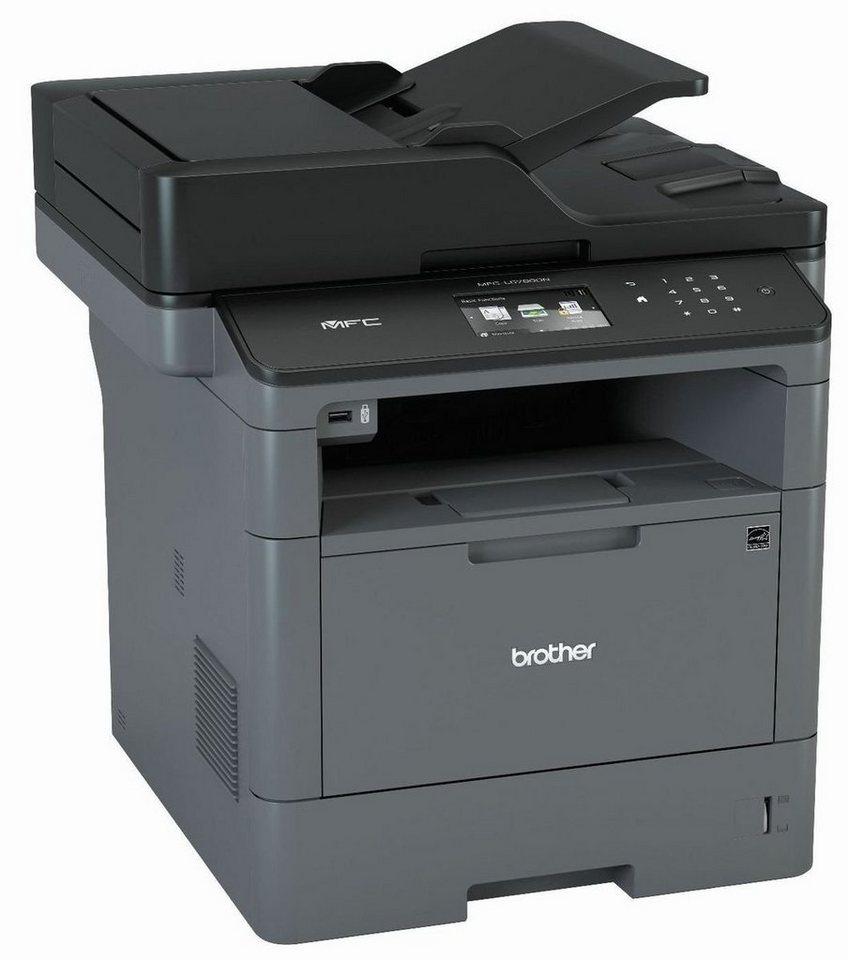 Brother Monolaser-Multifunktionsdrucker »MFC-L5700DN 4in1 Multifunktionsdrucker« in Dunkelgrau
