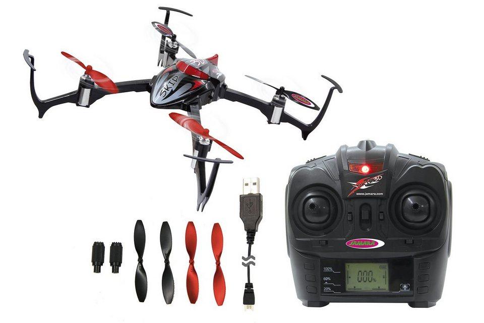 JAMARA Quadrocopter mit LED Beleuchtung, 2,4 GHz, »Skip 3D«
