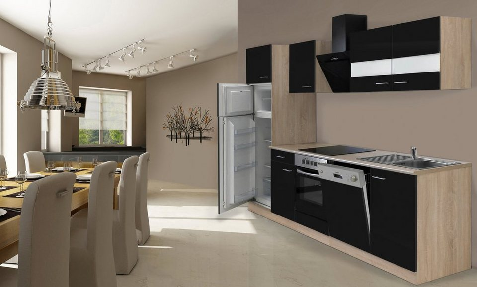 Küchenzeile Hamburg Küche Mit E Geräten Breite 330 Cm