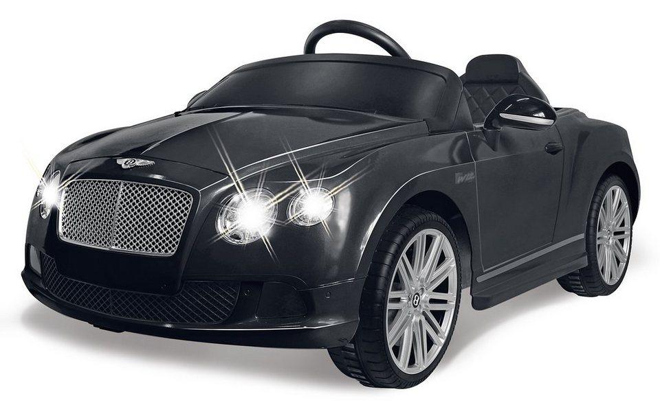 JAMARA Elektrofahrzeug für Kinder, 2,4 GHz, »JAMRA KIDS Ride-On Bentley GTC, schwarz« in schwarz