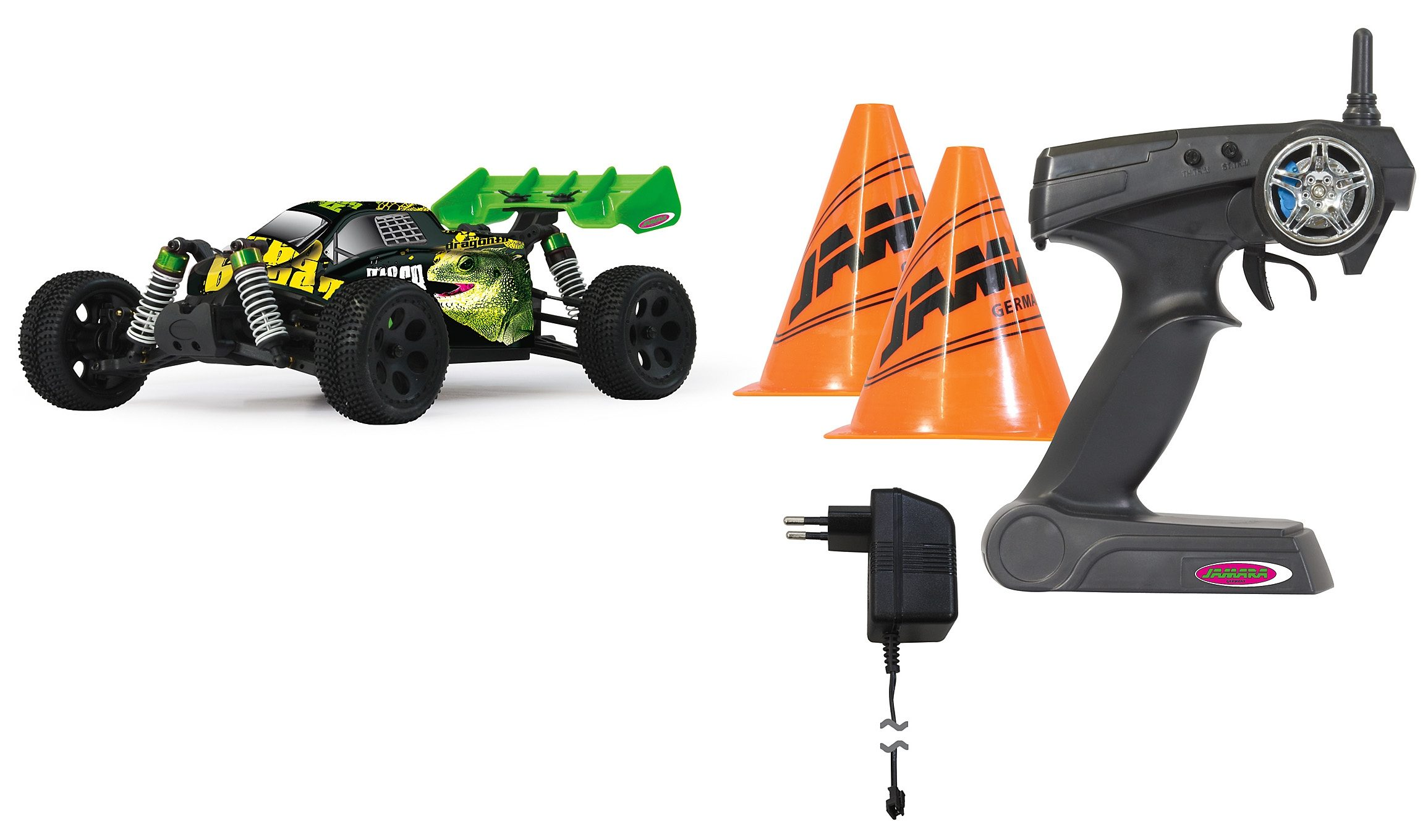 JAMARA RC Komplett Set Buggy, »Z18 CR The Beast«