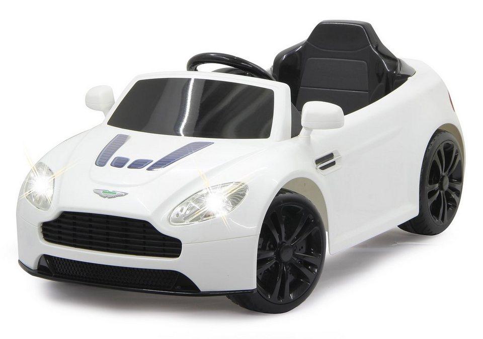 JAMARA Elektrofahrzeug für Kinder, 2,4 GHz, »JAMARA KIDS Ride-On Aston Martin Premium, weiß« in weiß