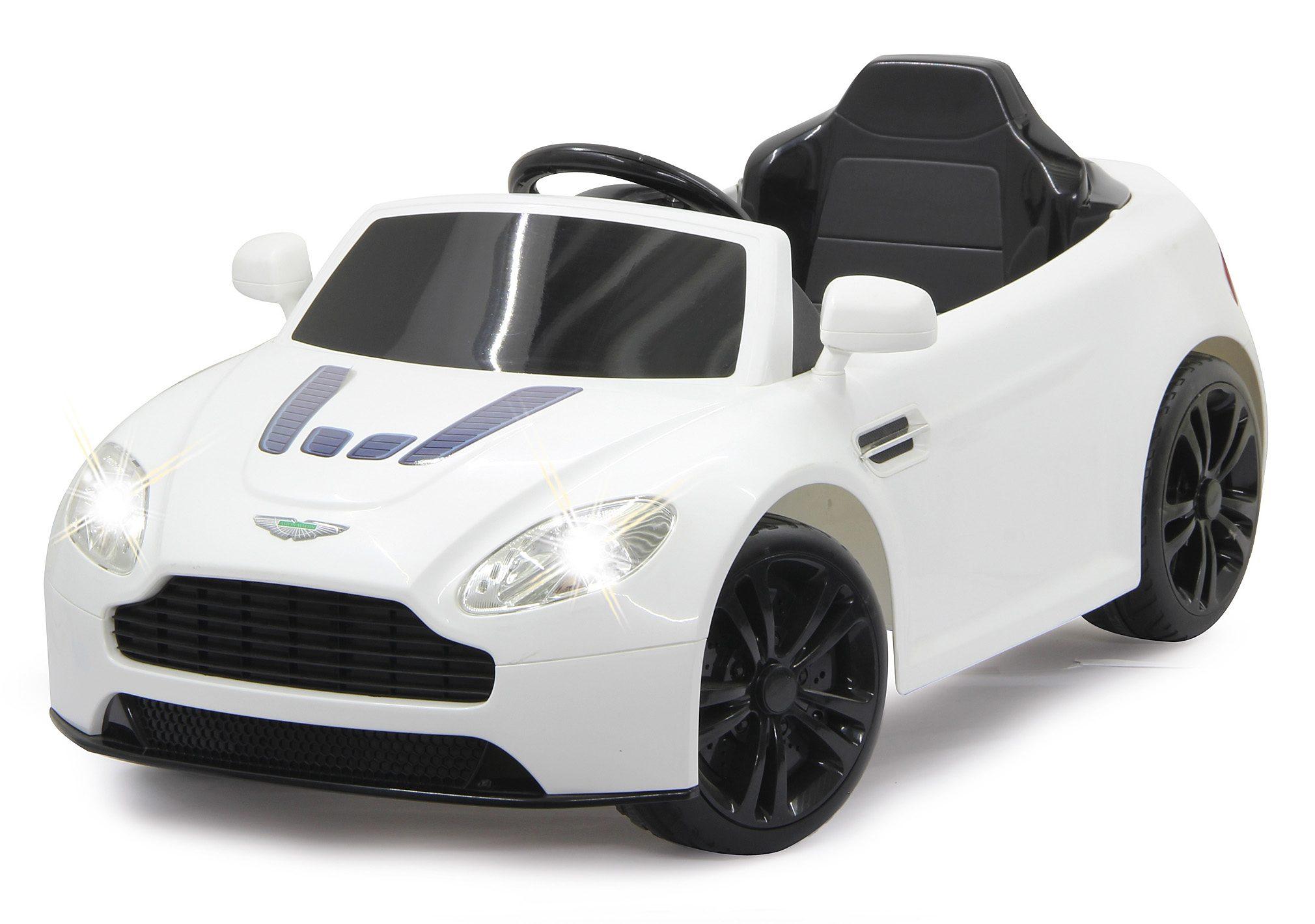 JAMARA Elektrofahrzeug für Kinder, 2,4 GHz, »JAMARA KIDS Ride-On Aston Martin Premium, weiß«