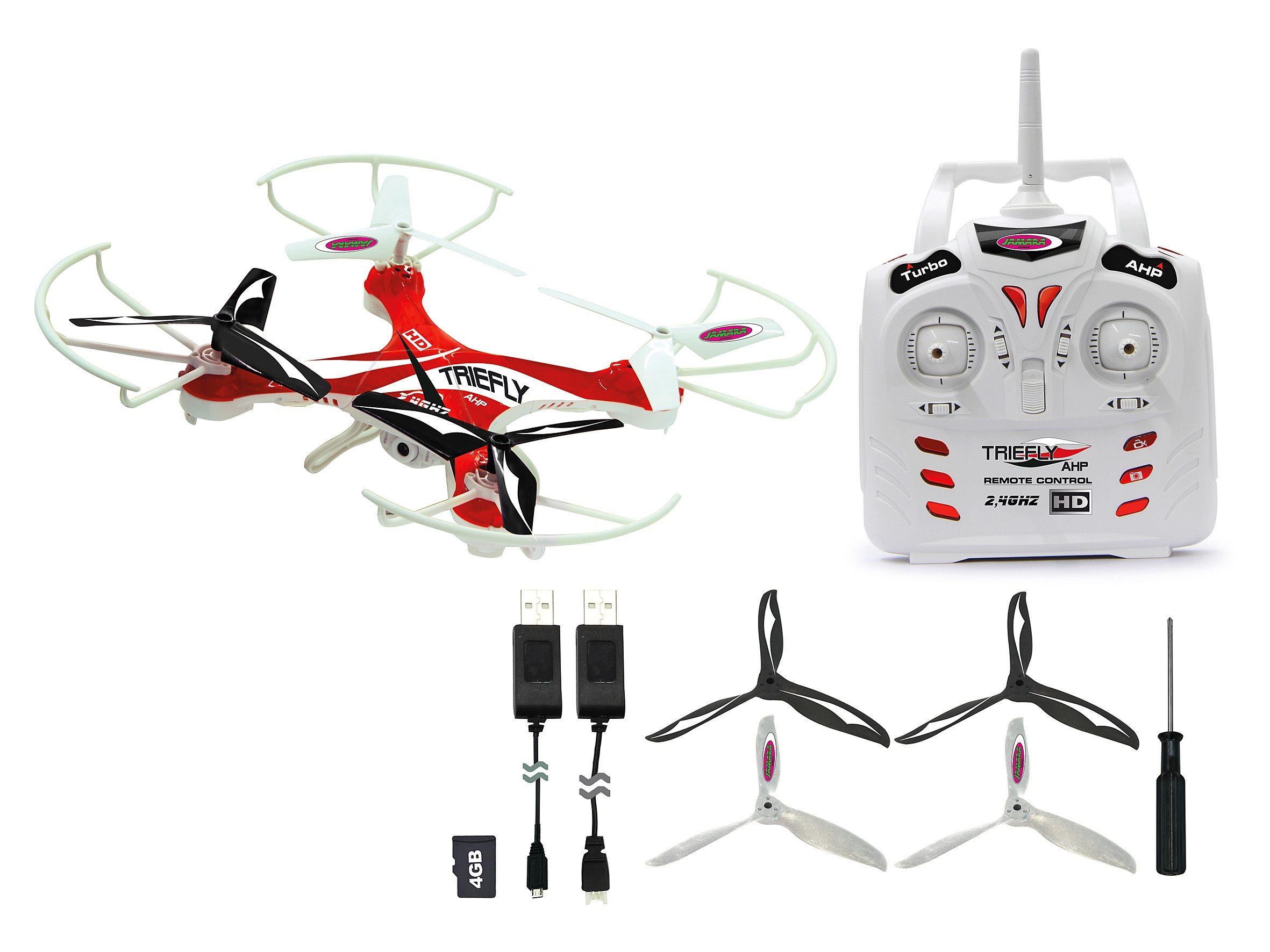 JAMARA Quadrocopter mit Kamera, 2,4 GHz, »Triefly«