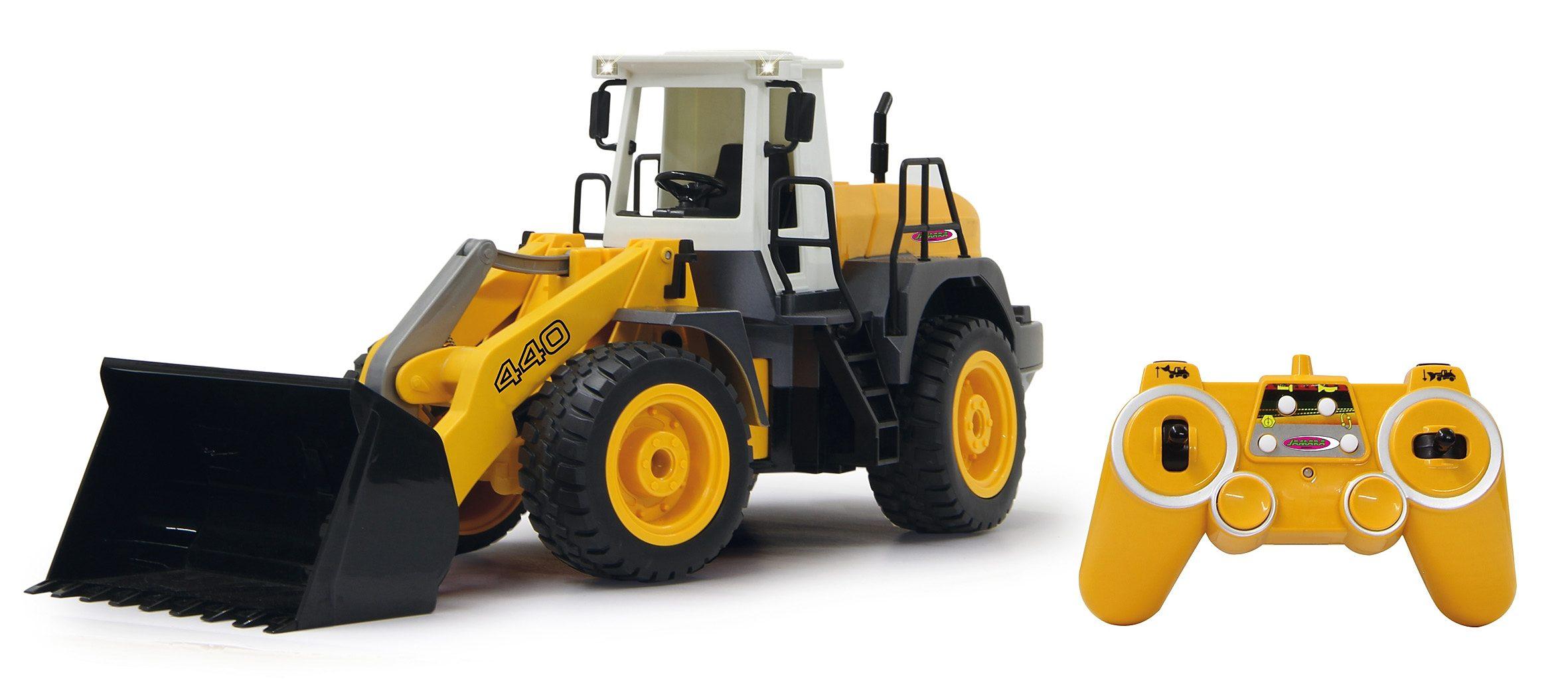 JAMARA RC Bagger mit Motorsound, Maßstab 1:20, »Radlader 440 2,4GHz«