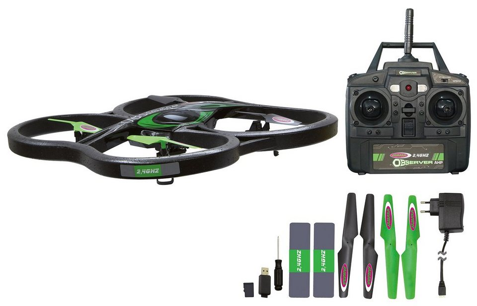JAMARA Quadrocopter mit Kamera, »Observer AHP«