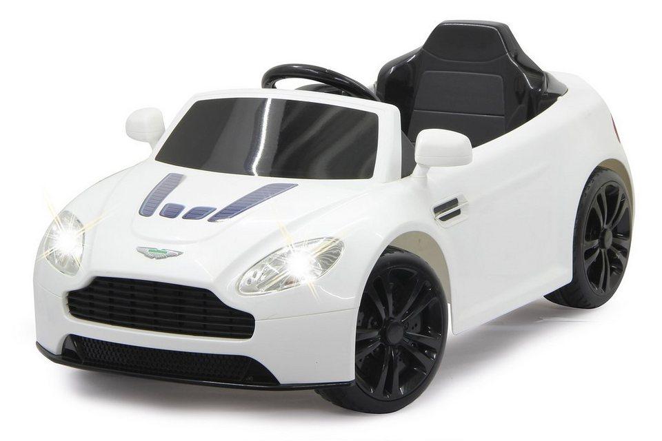 JAMARA Elektrofahrzeug für Kinder, 2,4 GHz, »JAMARA KIDS Ride-On Aston Martin, weiß« in weiß