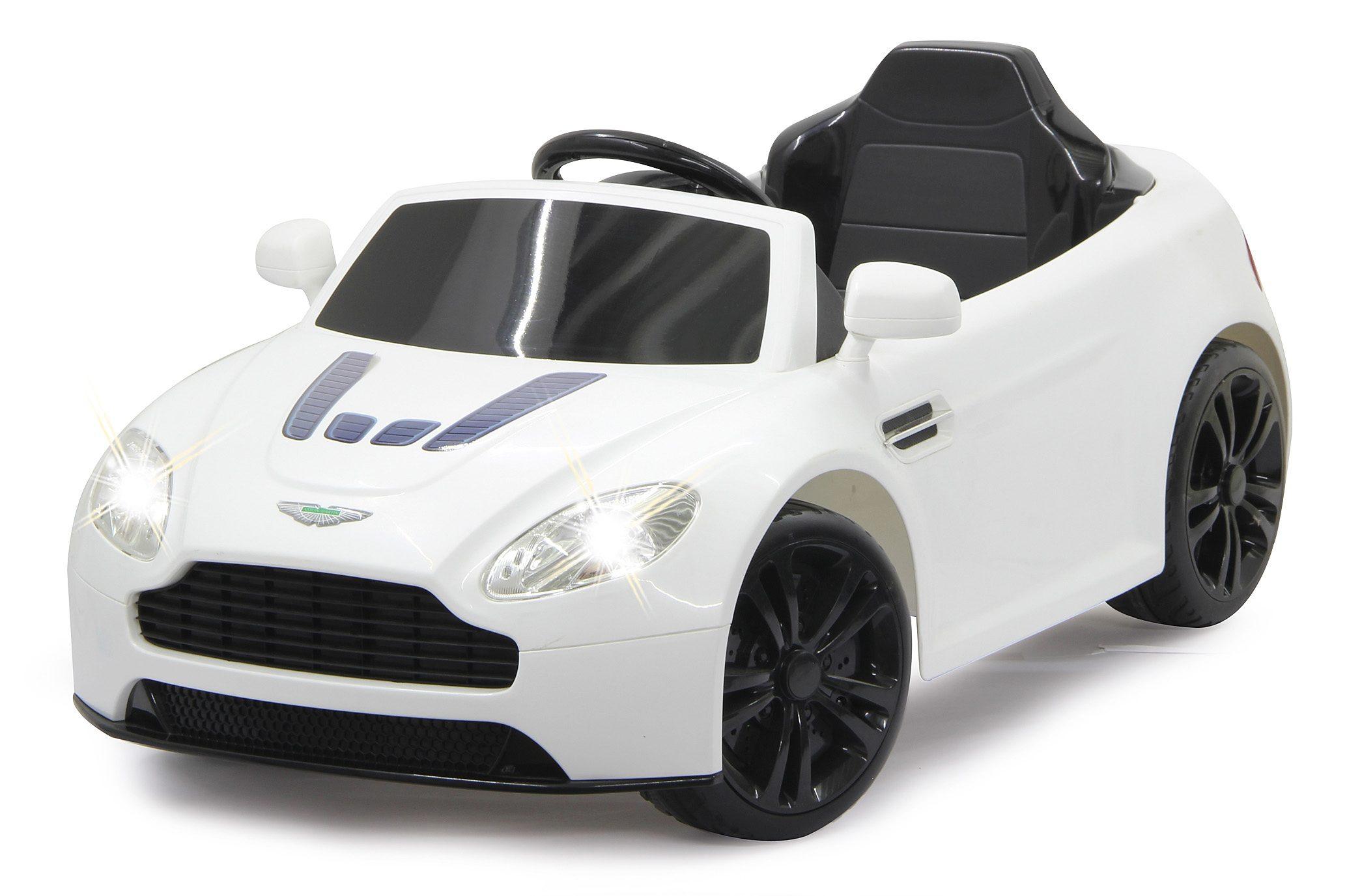 JAMARA Elektrofahrzeug für Kinder, 2,4 GHz, »JAMARA KIDS Ride-On Aston Martin, weiß«