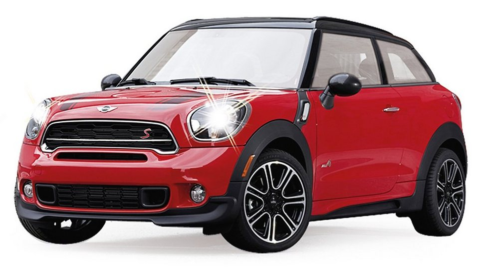 jamara rc auto mit licht ma stab 1 14 mini countryman. Black Bedroom Furniture Sets. Home Design Ideas