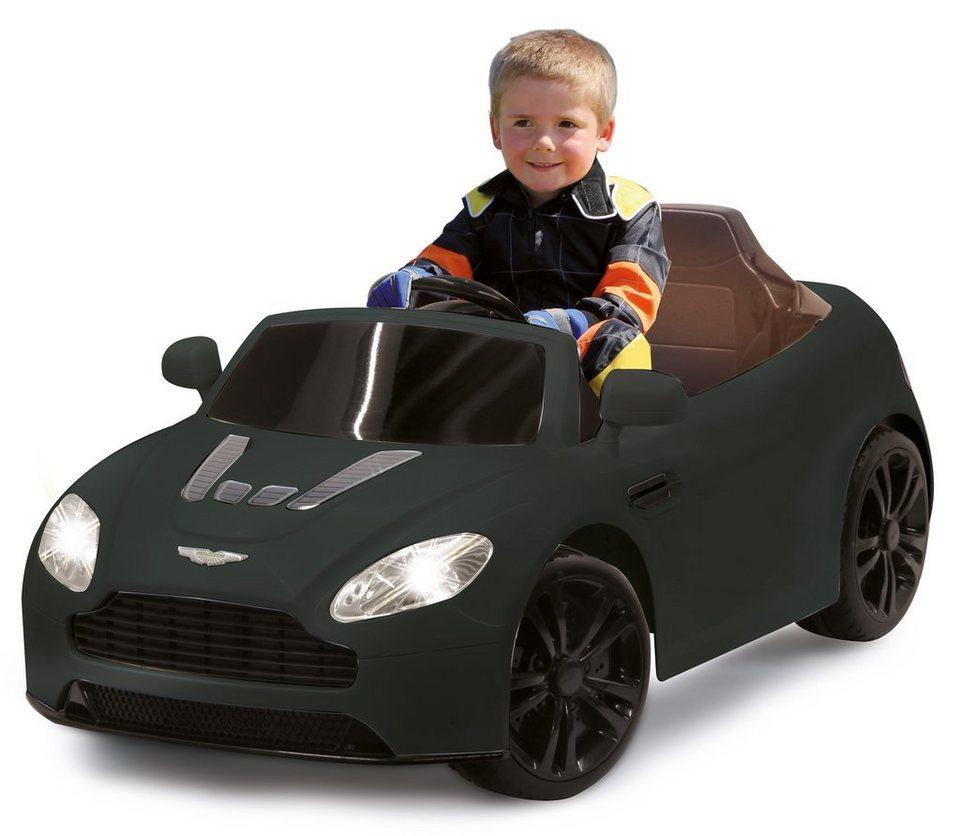 JAMARA Elektrofahrzeug für Kinder, 2,4 GHz, »JAMARA KIDS Ride-On Aston Martin Premium, schwarz« in schwarz