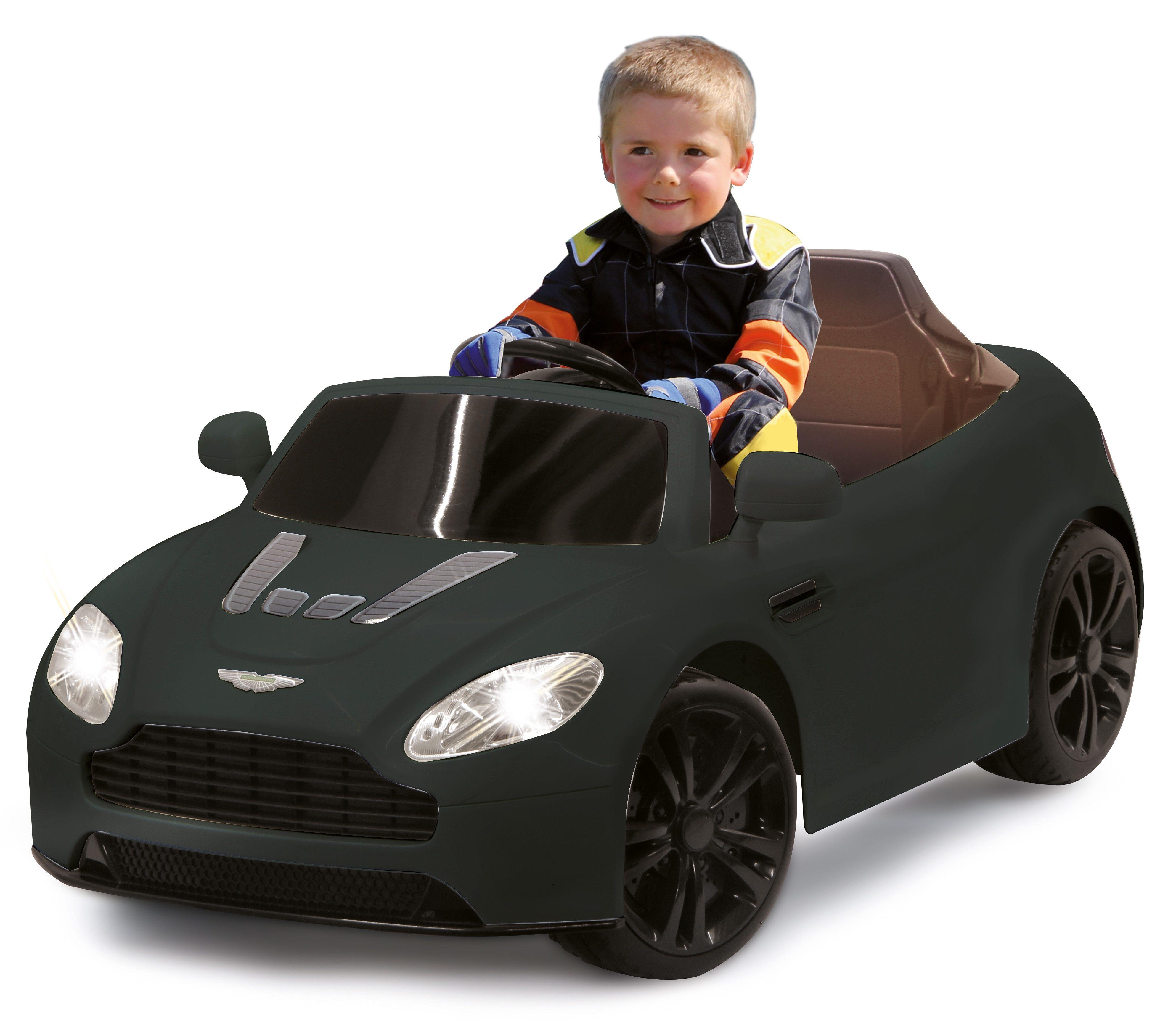 JAMARA Elektrofahrzeug für Kinder, 2,4 GHz, »JAMARA KIDS Ride-On Aston Martin Premium, schwarz«