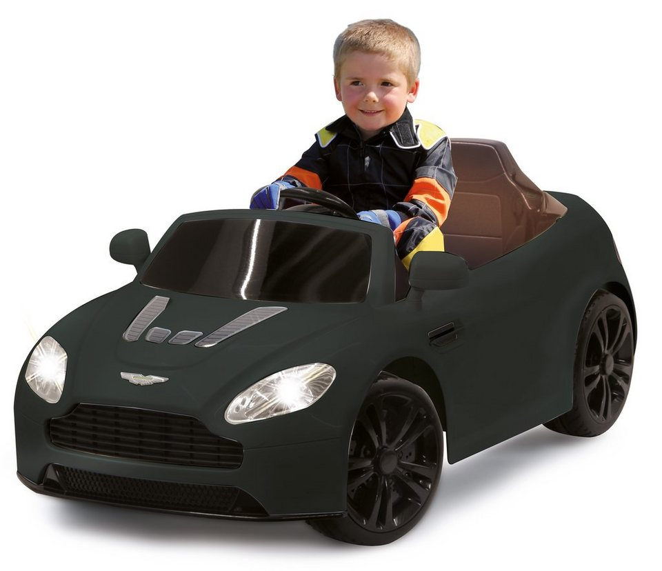 JAMARA Elektrofahrzeug für Kinder, 2,4 GHz, »JAMARA KIDS Ride-On Aston Martin, schwarz« in schwarz