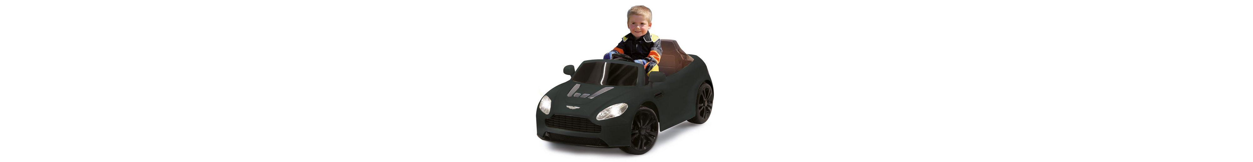 JAMARA Elektrofahrzeug für Kinder, 2,4 GHz, »JAMARA KIDS Ride-On Aston Martin, schwarz«