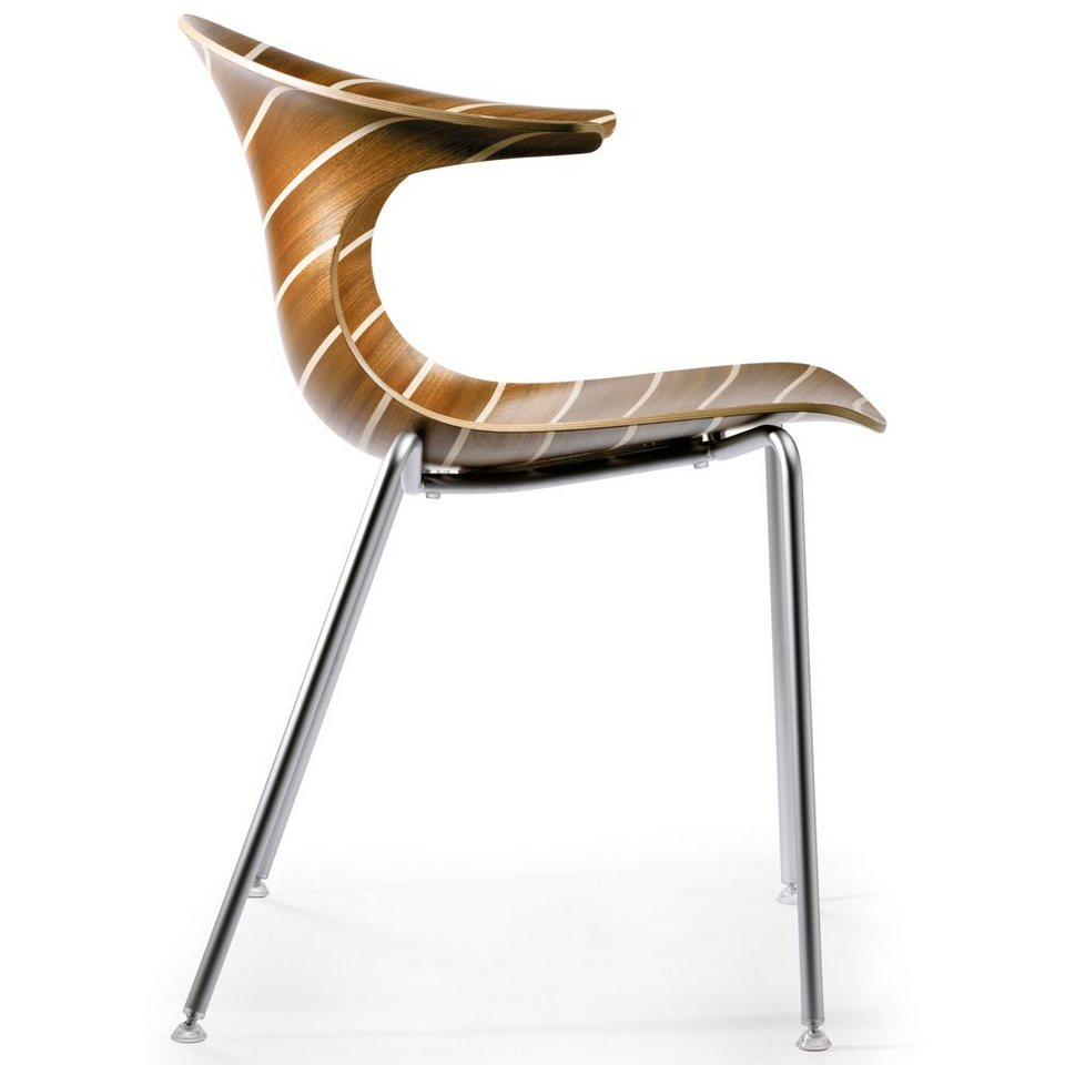 infiniti design designer holzstuhl loop 3d vinterio