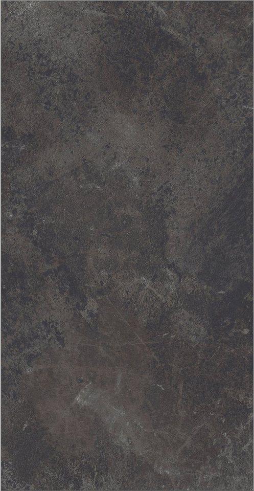 Laminat »Vario«, schiefer natur Nachbildung in schwarz