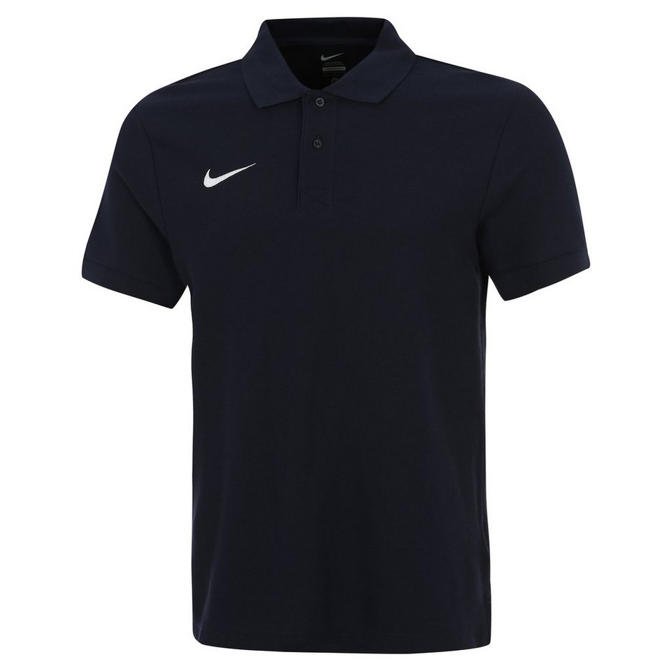 NIKE Core Poloshirt Herren in dunkelblau / weiß