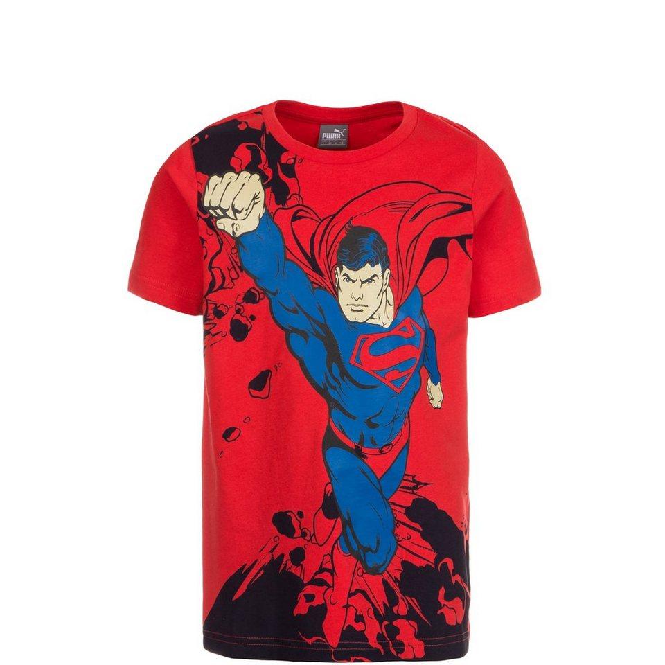 PUMA Fun Superman T-Shirt Kleinkinder in rot / blau / schwarz