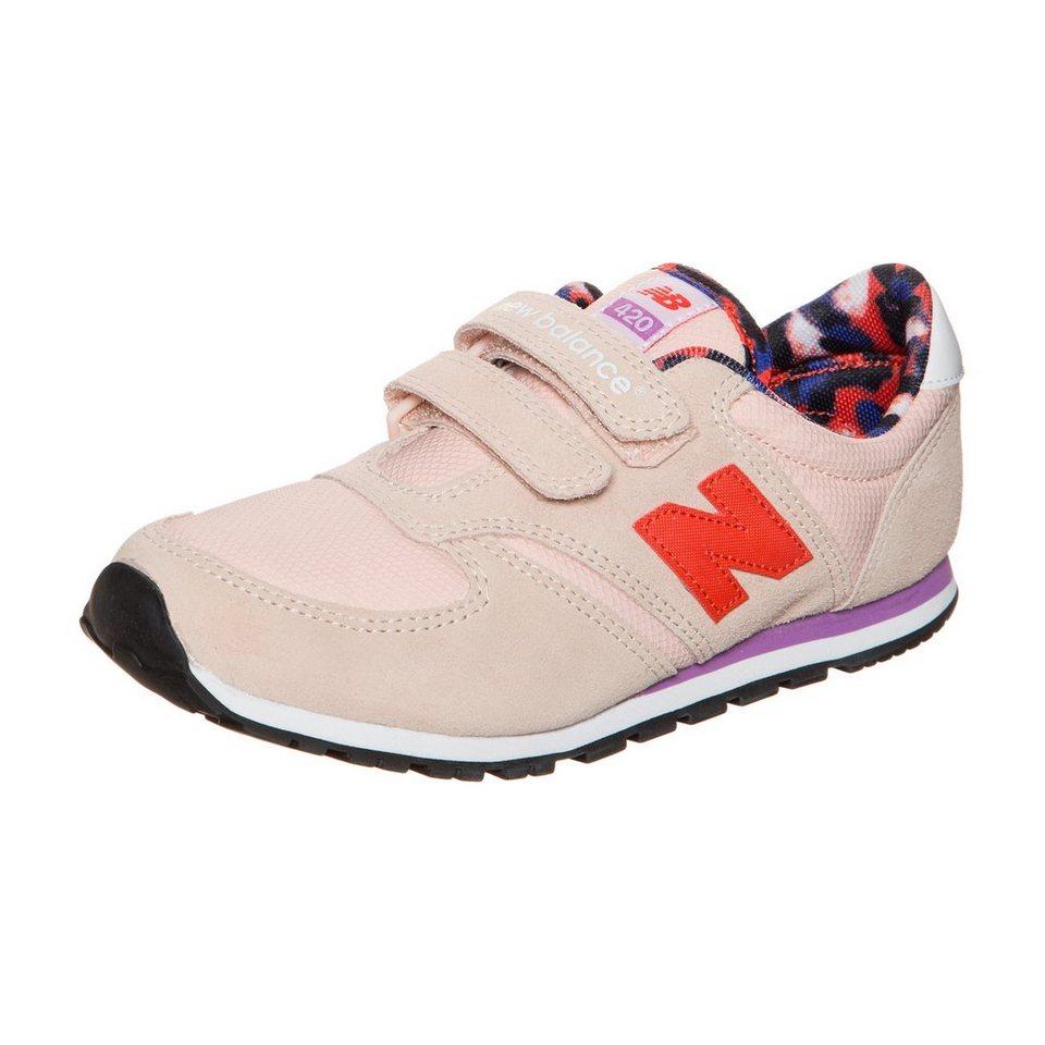 NEW BALANCE KE420-D1Y-M Sneaker Kinder in koral / rot