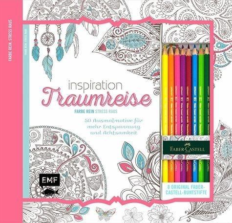 Broschiertes Buch »Kreativ-Set: Inspiration Traumreise«