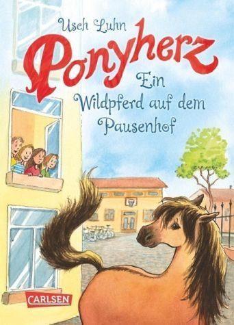 Gebundenes Buch »Ein Wildpferd auf dem Pausenhof / Ponyherz Bd.7«
